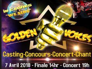 The Golden Voice Soirée Les Virtuoses 7 avril 2018